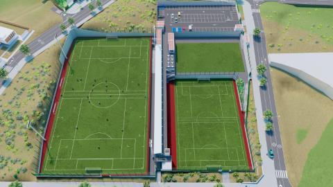 IMD. Campos de fútbol de La Suerte. Las Palmas de Gran Canaria/ canariasnoticias