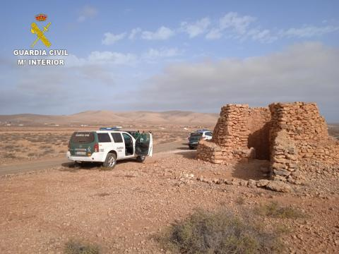 Dispositivo de vigilancia para la prevención de la caza furtiva en Fuerteventura