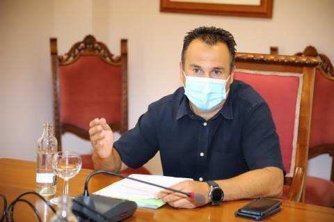 Hugo Delgado, consejero del Área de Residuos del Cabildo de Lanzarote/ canariasnoticias