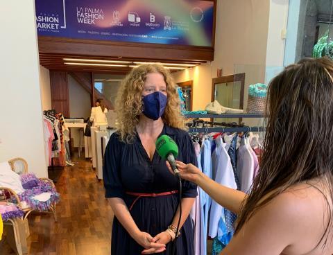 Raquel Díaz, consejera de Comercio y Empleo del Cabildo de La Palma / CanariasNoticias.es