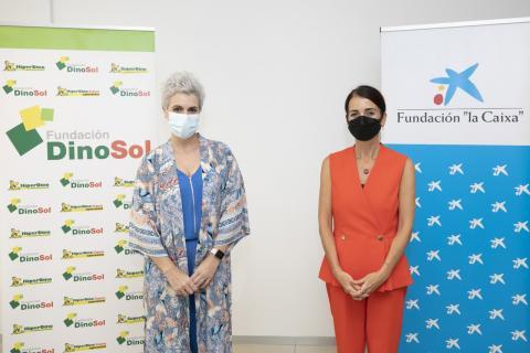 Virginia Ávila y Olga del Pino/ canariasnoticias