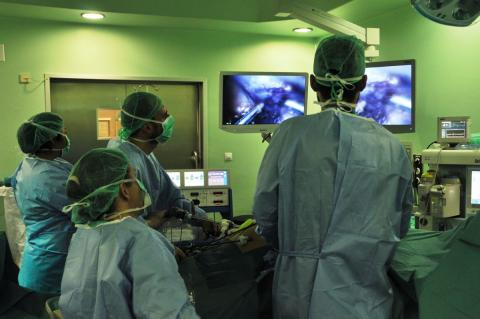 Quirófano del Hospital de Gran Canaria Dr. Negrín / CanariasNoticias.es