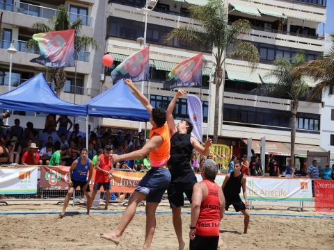 Torneo de Balonmano Playa Ciudad de Arrecife / CanariasNoticias.es