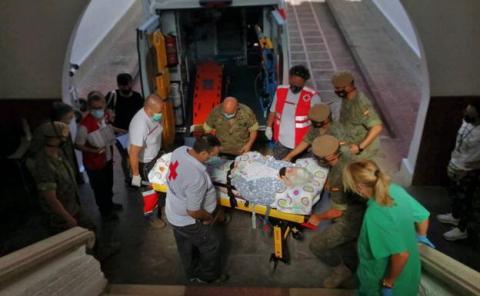 Servicios de Cruz Roja en La Palma
