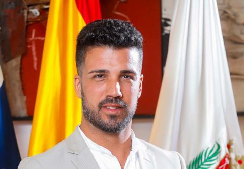 David Suárez, viceportavoz del Grupo Municipal Coalición Canaria