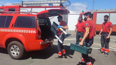 Bomberos de Lanzarote se desplazan a La Palma / CanariasNoticias.es