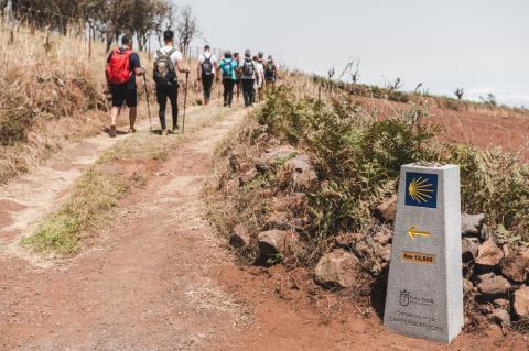 Peregrinos del Camino de Santiago de Gran Canaria / CanariasNoticias.es