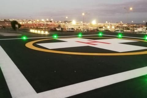Helipierto del Hospital General de Fuerteventura / CanariasNoticias.es