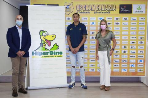 HiperDino vuelve a apoyar al CB Baloncesto Gran Canaria / CanariasNoticias.es