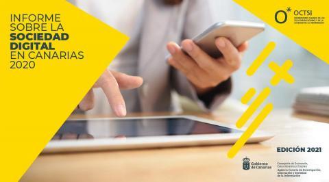 Informe sobre la Sociedad Digital en Canarias