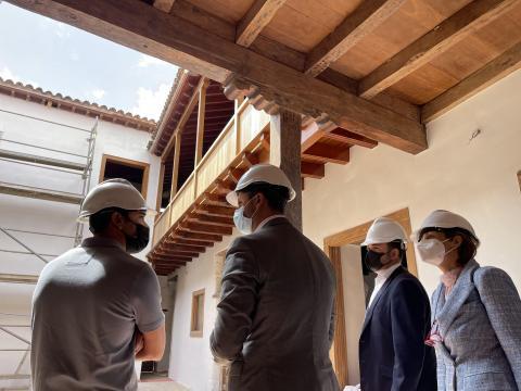 Visita a las obras de la Casa Anchieta en La Laguna / CanariasNoticias.es
