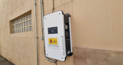 Punto de recarga de vehículos eléctricos en Puerto del Rosario / CanariasNoticias.es