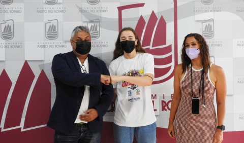 Puerto del Rosario felicita a la jugadora majorera de baloncesto, Carla Brito / CanariasNoticias.es