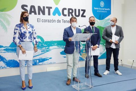 Presentación del Plan de Choque Turístico de Santa Cruz de Tenerife / CanariasNoticias.es