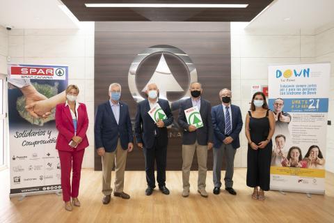 SPAR Gran Canaria renueva su apoyo a la Asociación Síndrome de Down de La Palmas