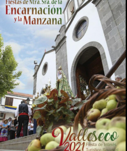 Festividad de la Manzana. Valleseco/ canariasnoticias