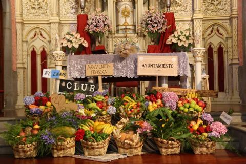 Ofrendas a la Virgen de la Encarnación en Valleseco / CanariasNoticias.es