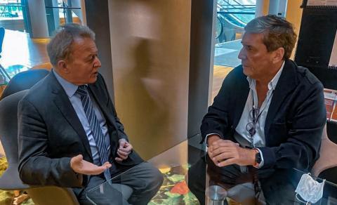 El comisario europeo de Agricultura con Gabriel Mato / CanariasNoticias.es