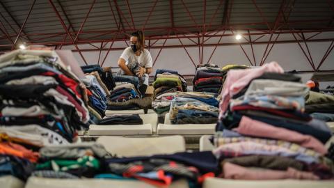 Donaciones para los afectados por la erupción del volcán de La Palma