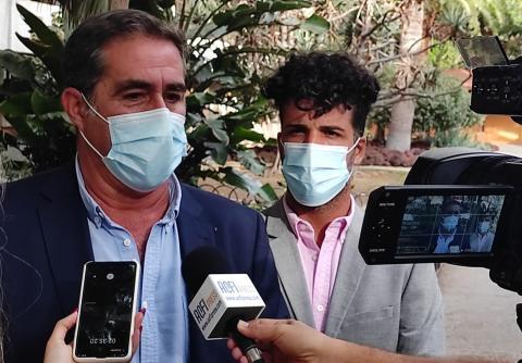 Francis Candil y David Suárez (Coalición Canaria) / CanariasNoticias.es