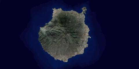 Ortofoto de Gran Canaria