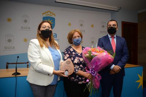 Homenaje a la artesana quesera Milagrosa Moreno Díaz en Guía / CanariasNoticias.es