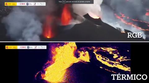 Volcán de La Palma/ canariasnoticias
