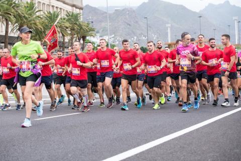 Campeonato de España Militar de Maratón en Santa Cruz de Tenerife / CanariasNoticias.es