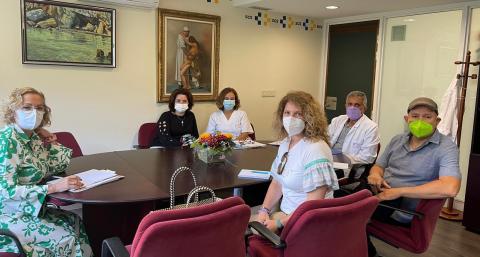 Reunión de Gerencia de Servicios Sanitarios y AFEM / CanariasNoticias.es