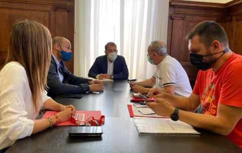 Reunión de CCOO con el Ayuntamiento de Santa Cruz de Tenerife / CanariasNoticias.es