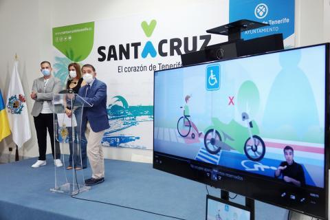 Presentación de la campaña de accesibilidad de SC de Tenerife / CanariasNoticias.es