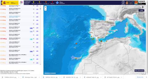 Terremoto. La Palma/ canariasnoticias