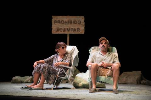 Chani Martín y Pepa Zaragoza. Teatro Auditorio Agüimes/ canariasnoticias