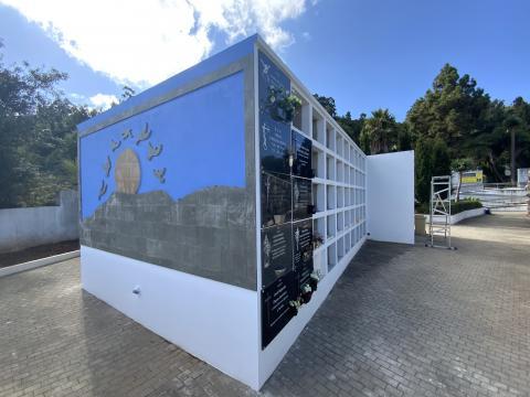 Obras de mejora y embellecimiento en el cementerio de Valleseco / CanariasNoticias.es